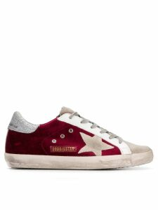 Golden Goose Superstar sneakers - Red