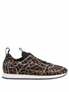 Fendi FFreedom sneakers - Brown