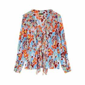 Stine Goya Mila Floral Silk Blouse
