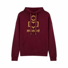 Isabel Marant Étoile Mansel Logo Cotton-blend Sweatshirt