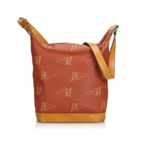 Louis Vuitton Brown 2925 Americas Cup Touquet Bag