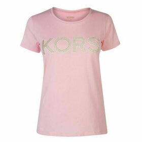 MICHAEL Michael Kors MICHAEL Studded T Shirt Ladies