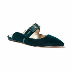 Katherine Hooker - Maxi Dress In Black & Cream Paisley