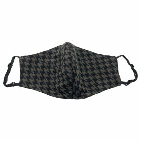 Carousel Jewels - Squares On Blue Silk Scarf