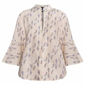 GISY - Lavender Cotton Poplin Blouse