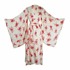 At Last. - Lola Navy & White Palm Dress