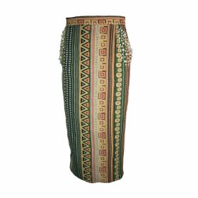 relax baby be cool - Pencil Skirt With Pearl Embroidery