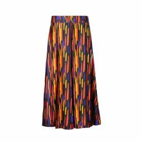 Isabel Manns - Gracie Silk Satin Skirt