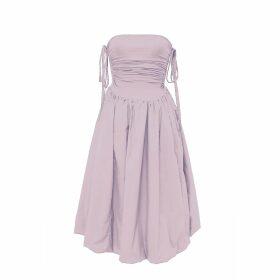 IMAIMA - Leda Shirt Dress In White