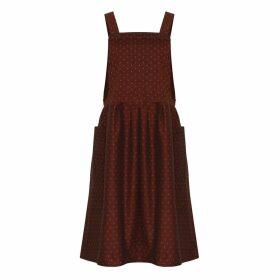 Bo Carter - Candy Dress Burgundy Dots