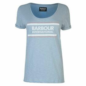 Barbour International Perez Logo T Shirt