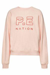 P.E. Nation Shuffle Printed Cotton Sweatshirt