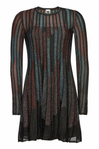 M Missoni Mini Dress with Metallic Thread