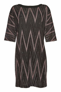 M Missoni Mini Dress with Cotton