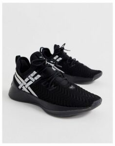 Puma Training jaab XT trainers in black and metallic