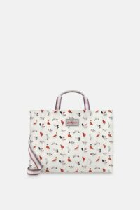 Parading Pigeon Strappy Carryall Bag