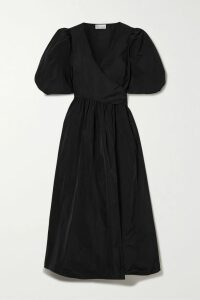 Alighieri - Black Lion Medallion Embellished Grosgrain Espadrilles - IT39