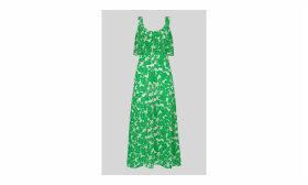 Omana Silk Blossom Dress
