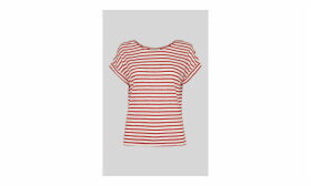 Stripe Relaxed Linen Tee