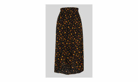 Aster Floral Wrap Skirt
