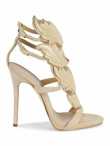 Coline Wings Suede Sandals