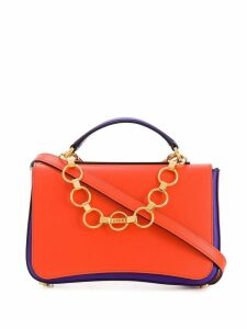 Emilio Pucci Chance Chain Embellished Colourblock Bag - Pink
