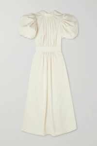Nike - M2k Tekno Neon Printed Canvas, Suede And Leather Sneakers - Black
