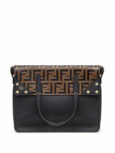 Fendi Fendi Flip Regular shoulder bag - Black