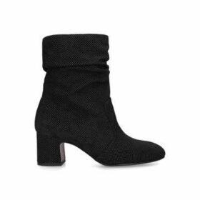 Chie Mihara Na-edil35 - Black Block Heel Calf Boots
