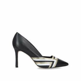 Nine West Eugene - Black Stiletto Heel Court Shoes