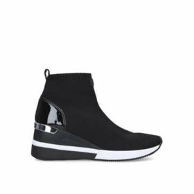 Michael Michael Kors Skyler Bootie - Black High Top Sock Trainers