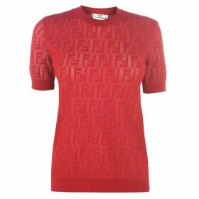 Fendi Ff Knitted T Shirt
