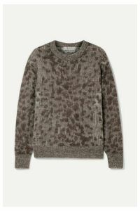 SEA - Jacquard-knit Sweater - Brown