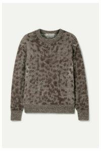 SEA - Jacquard-knit Sweater - Brown