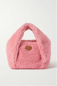Alexander McQueen - Bow-detailed Houndstooth Wool-blend Sweater - Ivory
