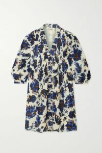 LemLem - + Net Sustain Welela Fringed Striped Cotton-blend Gauze Hoodie - Blue