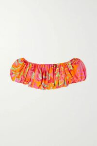 SAINT LAURENT - Distressed Denim Jacket - Blue