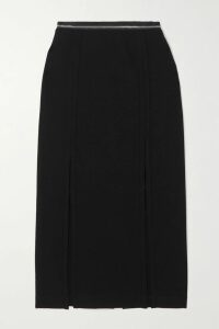 ATM Anthony Thomas Melillo - Shirred Cotton-poplin Bustier Top - Black
