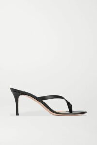 ATM Anthony Thomas Melillo - Distressed Slub Cotton-jersey Top - Dark gray