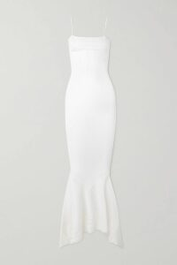 SPRWMN - Zebra-print Leather Mini Skirt - Zebra print