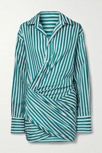 Dolce & Gabbana - Floral-print Silk-organza Blouse - Pink