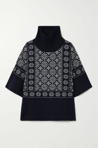 J.Crew - Tencel-blend Sweater - Navy