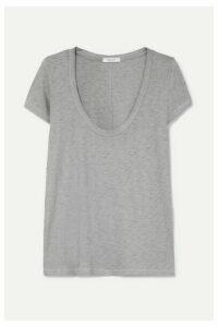 rag & bone - U Neck Slub Pima Cotton-jersey T-shirt - Blue