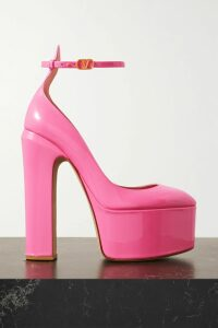 Self-Portrait - One-shoulder Ruffled Fil Coupé Georgette Blouse - Navy