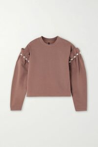 MM6 Maison Margiela - Ribbed-knit Turtleneck Sweater - Tan