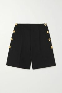 The Great - The College Embroidered Slub Cotton-jersey Sweatshirt - Pink