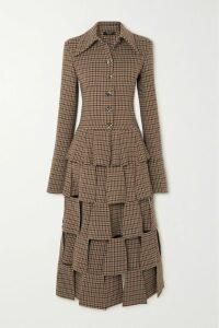Dolce & Gabbana - Off-the-shoulder Floral-print Cotton-poplin Blouse - Red