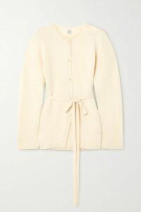 Versace - Pleated Printed Silk-twill Mini Skirt - Yellow