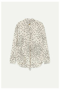 Stella McCartney - Polka-dot Silk-georgette Blouse - White