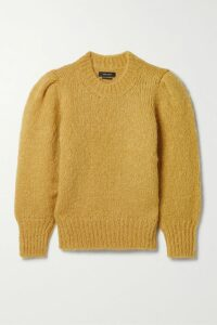 Theory - Twist-back Silk-crepe Top - Blue